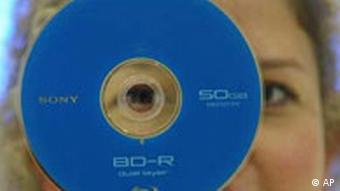 DVD mit 50 GB Speicher