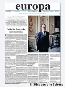 Prilog Europa u njemačkom Süddeutsche Zeitungungu