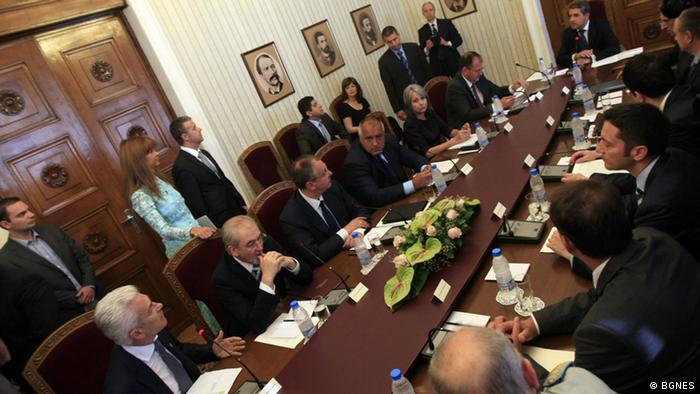 Sitzung des Bulgarischen Rats für nationale Sicherheit