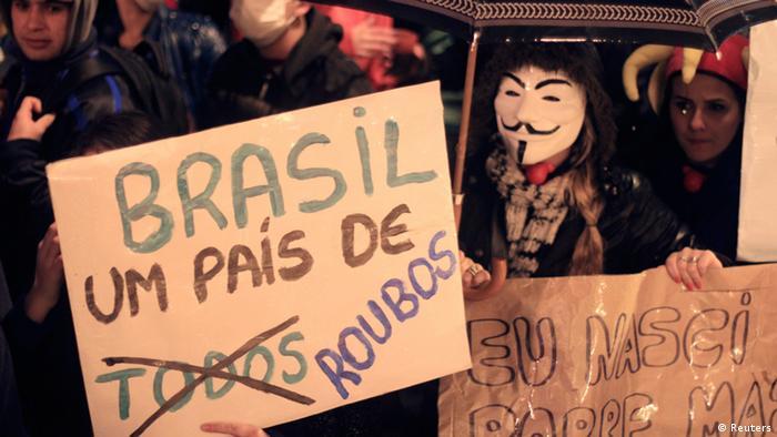 Brazil protests 2013