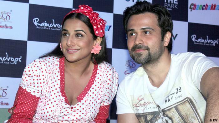 Bollywood Vidya Balan und Emran Hashmi (DW)