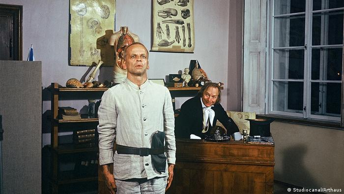 Filmszene mit Klaus Kinski in als Woyzeck (Studiocanal/Arthaus)
