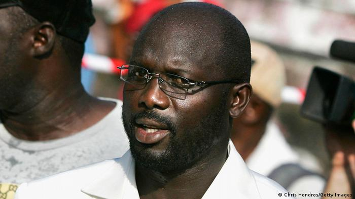 George Weah (Chris Hondros/Getty Images)
