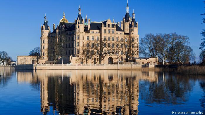 Шверинский замок (Schloss Schwerin)