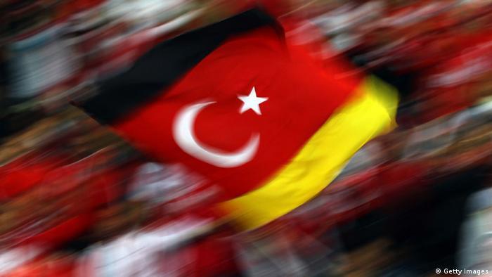Fahne Türkei Deutschland