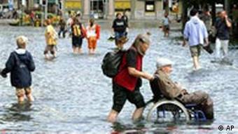 Flut in der Schweiz