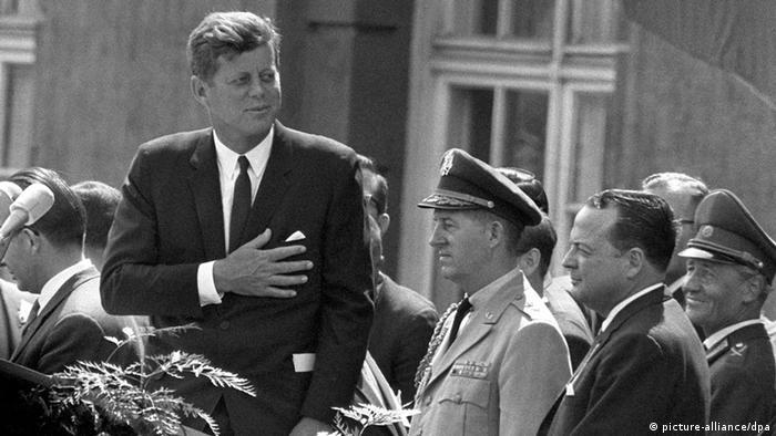 Президент США Джон Ф. Кеннеди в Берлине