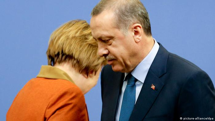 Merkel und Erdogan (picture-alliance/dpa)