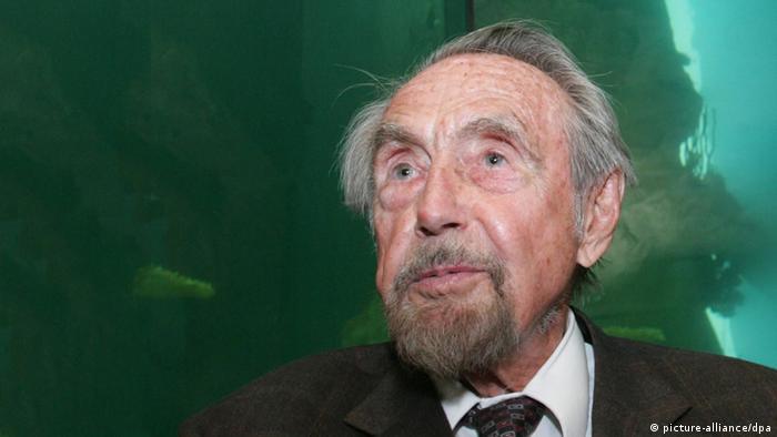 Hans Hass Meeresbiologe und Taucher, Foto: dpa