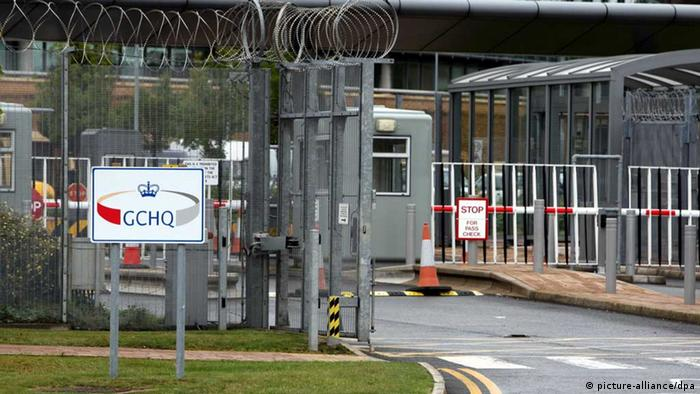 GCHQ entrance gate (Photo: Steve Parsons/PA Wire)