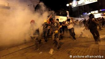 Tear gas used on protestors in Turkey. (Photo: epa)