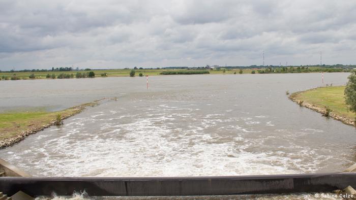 Emscher fließt in den Rhein