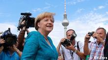 Merkel CDU Treffen Bundestagswahl