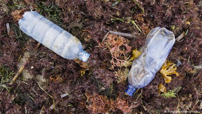 Leere Flasche Plastik
