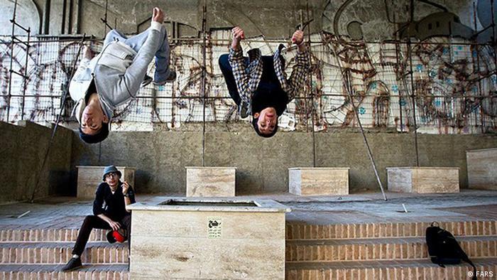 Bildergalerie Iran Parkour