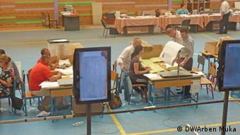 View from the accounting vote process in Tirana (Photo: Arben Muka)