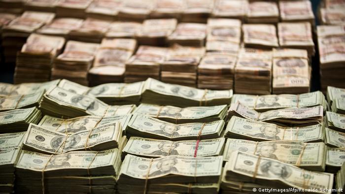 Symbolbild Korruption Mexiko (GettyImages/Afp/Ronaldo Schemidt)