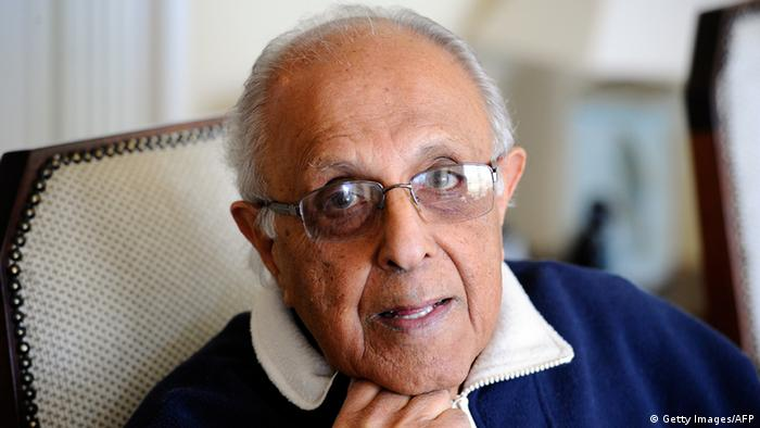A recent picture of Ahmed Kathrada (Getty Images/AFP)