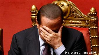Italy, Rome - February 15, 2011 Italian Prime Minister Silvio Berlusconi ordered to face trial over sex allegations and abuse of power in April, so judge Cristina Di Censo. Archive file dated September 30, 2010 / Rome/Italy.