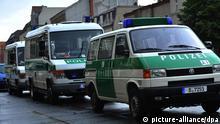Symbolbild Deutschland Polizei Razzia