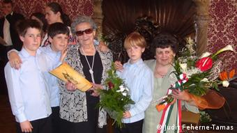 Ilona Tamas s unucima