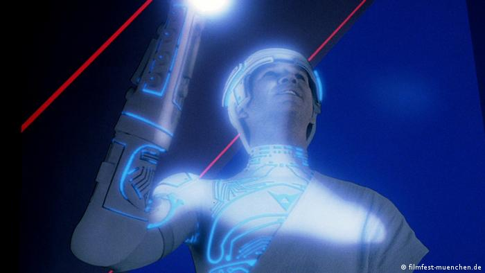 Still from the film Tron