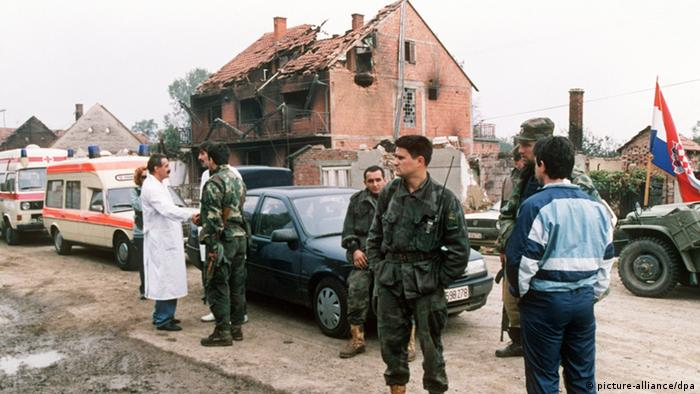 Războiul civil din Croaţia în 1991