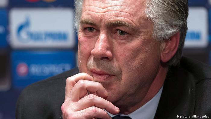 Trainer Carlo Ancelotti