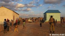 Copyright für alle Bilder: Bettina Rühl (Zulieferer). Eine neue Siedlung für Kriegsflüchtlinge aus Somalias Süden, entstanden in Garowe, der Hauptstadt von Puntland, einer teilautonomen somalischen Republik