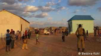 New housing for refugees. (Photo: Bettina Rühl)