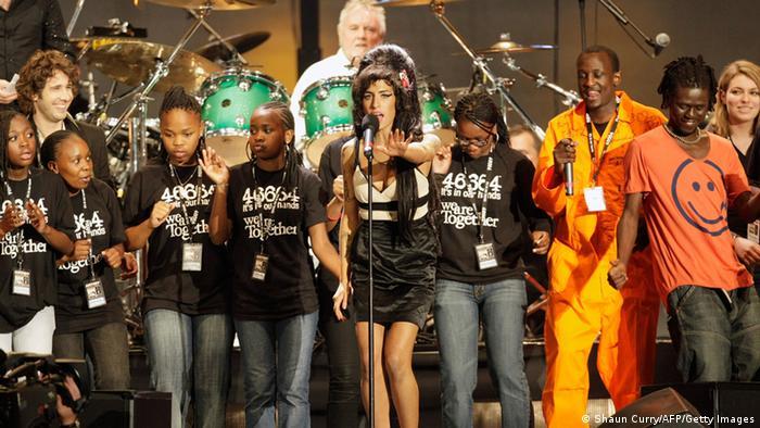Audioslide Nelson Mandela 46664 Konzert London 2008