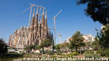 a Sagrada Familia by Antoni Gaudi, UNESCO World Heritage Site, Barcelona, Catalonia, Spain, Europe