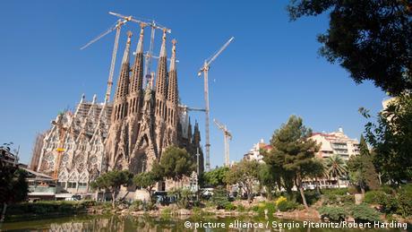 Bildergalerie: Werke des spanischen Architekten Antoni Gaudi
