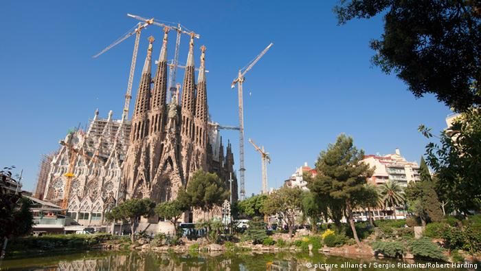 Sagrada Familia in Barcelona, Copyright: picture alliance / Sergio Pitamitz/Robert Harding