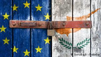 EU flag in Cyprus