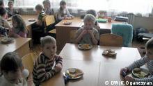 Kindergarten in der Stadt Donetsk