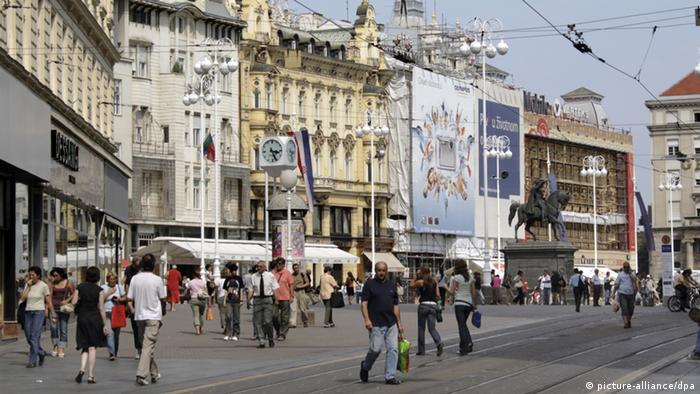 Zagreb, srediünji gradski trg