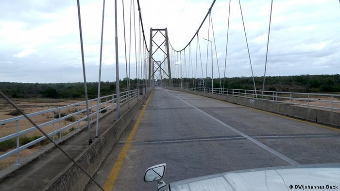 Brücke über den Save-Fluss