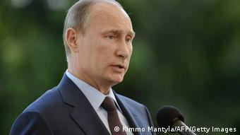 Russian President Vladimir Putin Photo: KIMMO MANTYLA/AFP/Getty Images