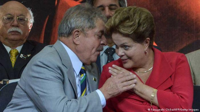 Luiz Inacio Lula da Silva und Dilma Rousseff