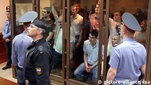 Russland Prozess gegen Demonstranten