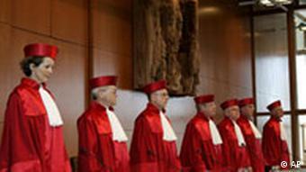 قاضیان سنای دوم دادگاه فدرال قانون اساسی آلمان
