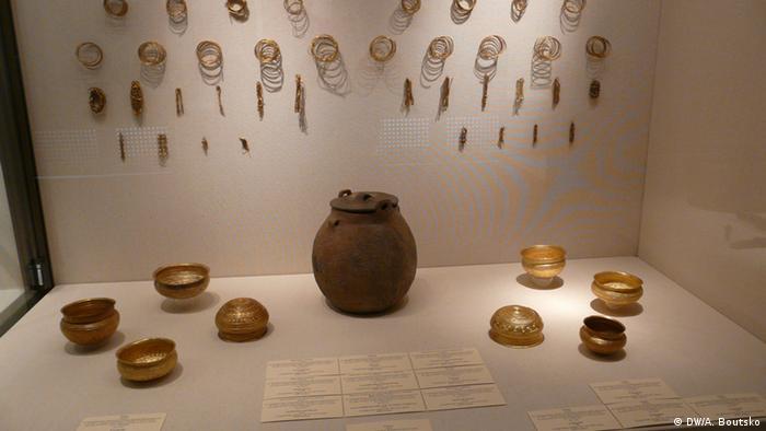 Фрагменти Еберсвальдского скарбу, виставка в Санкт-Петербурзі