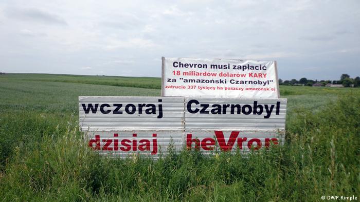 Не лише в Україні, а й у сусідній Польщі протестують проти фрекінгу