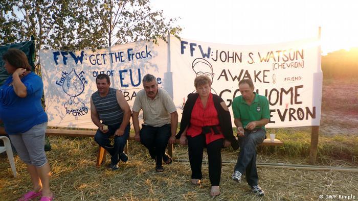 Польские крестьяне протестуют против добычи сланцевого газа