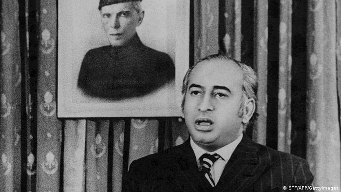Pakistan Ministerpräsident Zulfikar Ali Bhutto (STF/AFP/GettyImages)
