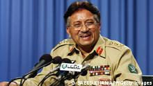 Pakistan Präsident General Pervez Musharraf