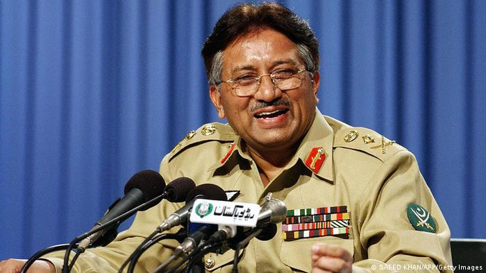 Pakistan Präsident General Pervez Musharraf (SAEED KHAN/AFP/Getty Images)
