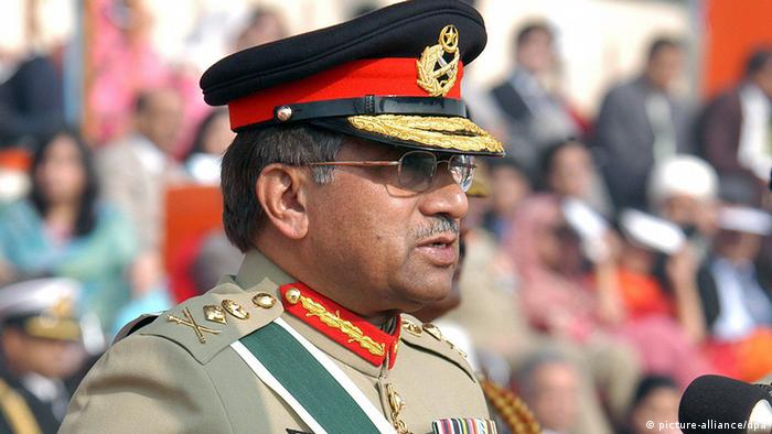 Pakistan Präsident General Pervez Musharraf (picture-alliance/dpa)