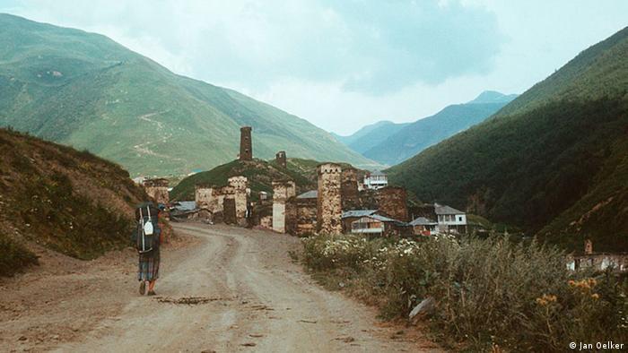 Пешком по Сванетии. 1986 г.